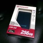 TranscendのポータブルSSDを購入!